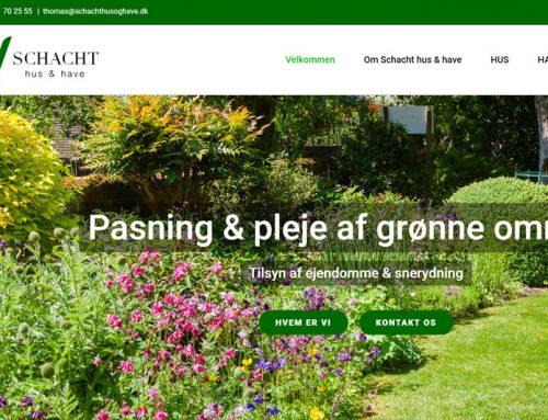 Schacht Hus & Have WordPress