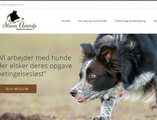 Stina Aarup WordPress